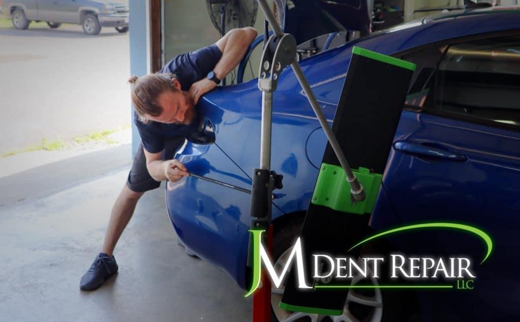 repairing a dent